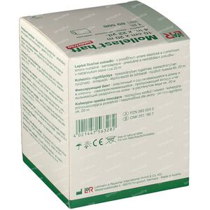 Mollelast Haft Pansement Adhésif Latex Free 10cm x 20m 89598 1 pièce