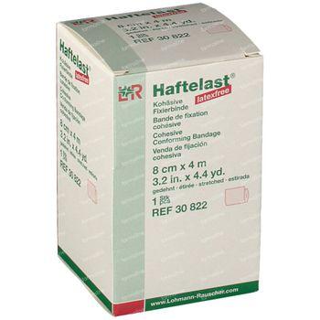 Haftelast Fixation Bandage 8cmx4m 30822 1 st