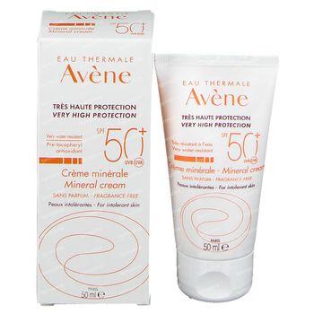 Avène Minerale Crème SPF50+ 50 ml