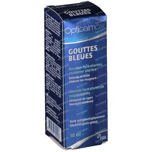 Opticalmax Eyedrops Blue 10 ml gocce