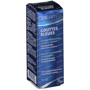 Opticalmax Eyedrops Blue 10 ml drops
