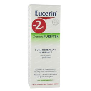 Eucerin Dermo Purifyer Hydraterende Matterende Crème Promo 50 ml