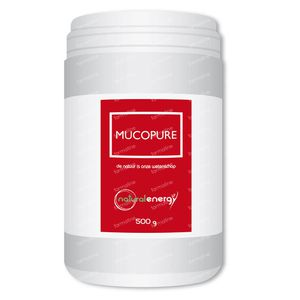 Natural Energy Mucopure 500 g poeder