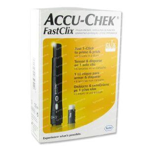 Accu-Chek FastClix Prikpen + Lancetten 7 St