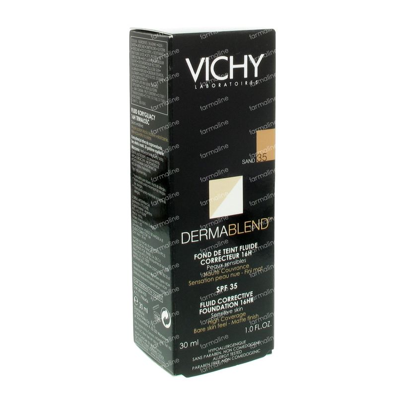 vichy dermablend fond de teint correct 35 sand vente en ligne. Black Bedroom Furniture Sets. Home Design Ideas
