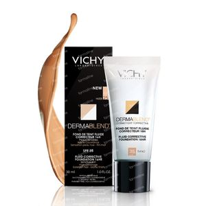 Vichy Dermablend Fond De Teint Correct 35 Sand 30 ml