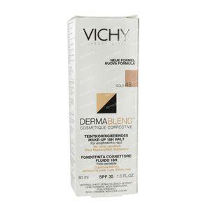 Vichy Dermablend Fond De Teint Correct 45 Gold 30 ml