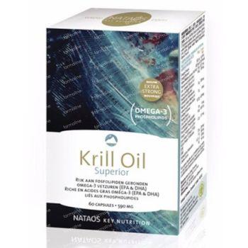 Nataos Key Nutrition Krill Oil Superior 500mg 120 capsules