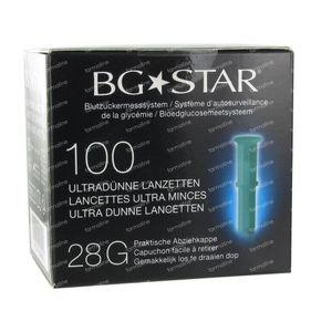 BGStar Glucose Meter Bloed 28 g 100 Stuks