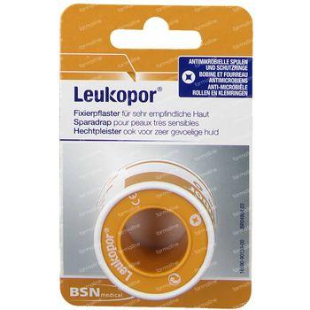 Leukopor® Sparadrap 5 m x 2,50 cm 02472-00 1 pièce