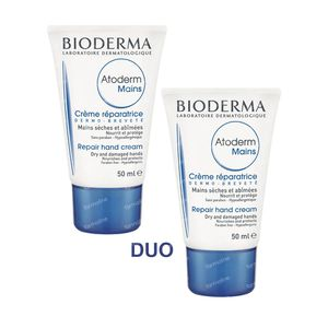 Bioderma Atoderm Hand Cream Duo 100 ml