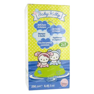 Hello Kitty Baby 2in1 Bath and Shampoo 250 ml