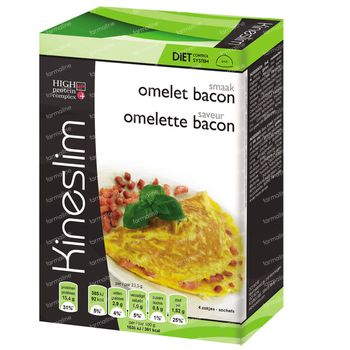 Kineslim Omelette au Bacon 4 sachets