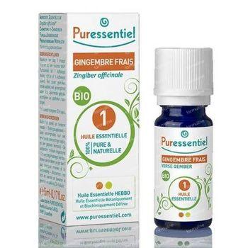 Puressentiel Essentiële Olie Verse Gember Bio 5 ml