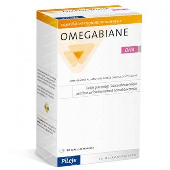Omegabiane DHA 80 capsules