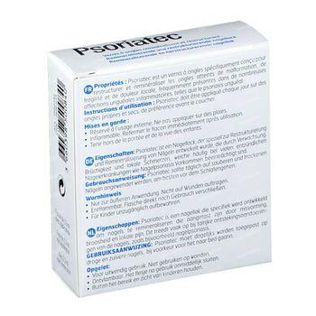 Psoriatec Vernis à Ongles Reminéralisant et Restructurant Ongles Fragilisés 3,30 ml