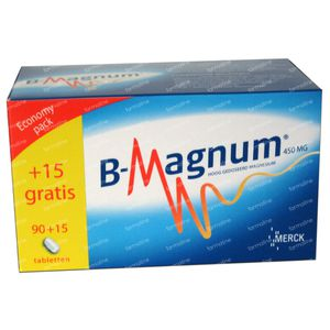 B-magnum Promopack 105 tablets