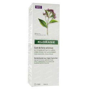 Klorane Cure de Force Antichute avec Quinine 125 ml