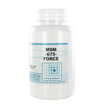 MSM-675-Force 810mg 90 capsules