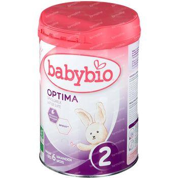 Babybio Optima 2 Lait de Suite +6 Mois 900 g