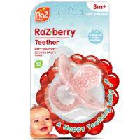 Raz Baby Bijtring Razberry Roze 3M+ 1 st