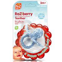 Raz Baby Anneau De Dentition Razberry Baby Bleu 1 st