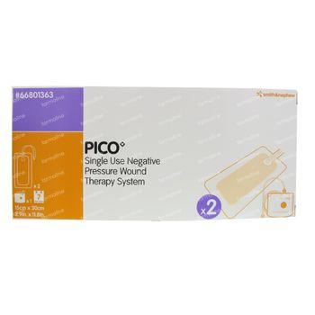 Pico Compresse Silicone 15x30Cm 2 st