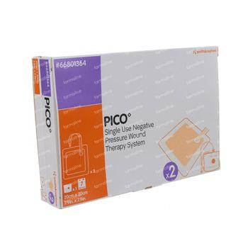 Pico Compresse Silicone 20x20Cm 2 st