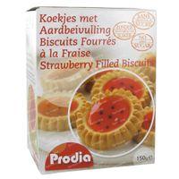 Prodia Kekse Mit Erdbeer-Füllung 150 g