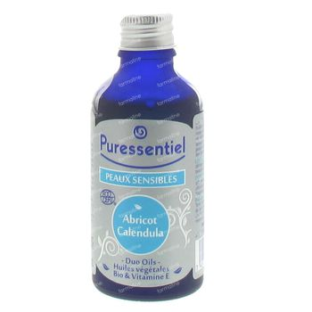 Puressentiel Abricot Calendula Bio Huile Vegetale 50 ml