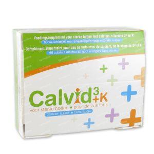 Calvid3+k s/Sucre 60 comprimés à croquer