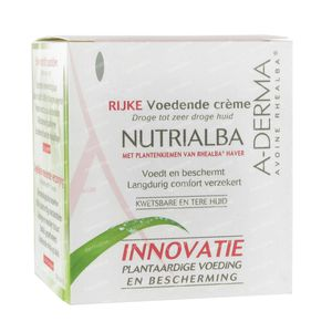A-Derma Nutrialba Rich Nourishing Cream 50 ml