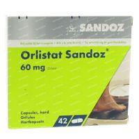 Orlistat Sandoz 60mg 42  capsules