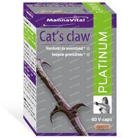 Mannavital Cat's Claw Platinum 60  capsules