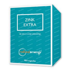 Natural Energy Zink Extra 180 mg Capsules