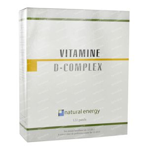 Natural Energy Vitamine D Complex 120 capsules