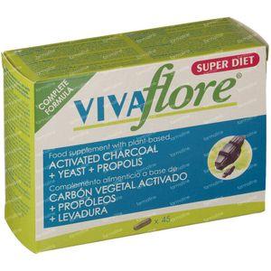 Vivaflore Charbon Végétal Activé 45 capsules
