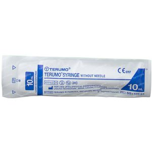 Wegwerpspuit 10 ml Terumo Zonder Naald Ss-10es 1 stuk