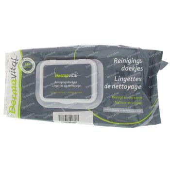 Dermavital Lingettes 64 st