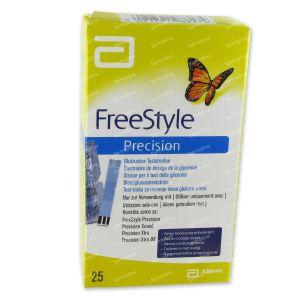 Freedom Freestyle Precision Strips 98817-70 25 stuks
