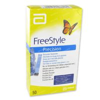 Freedom Freestyle Precision Strips 98817-70 50 st