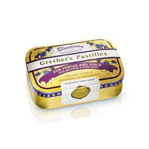 Grethers Pastilles Blueberry Senza Zucchero 110 g