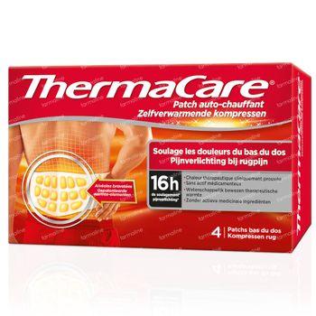ThermaCare Wärmeumschläge Rucksenschmerzen 4 st