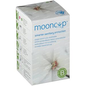 Mooncup Menstruation Cup Reusable Size B 1 1 item