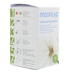 Mooncup Menstruation Cup Reusable Size B 1 1 item