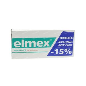 Elmex Toothpaste Sensitive Duopack 150 ml