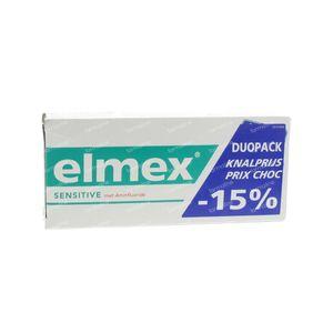 Elmex Toothpaste Sensitive Duopack 150 ml