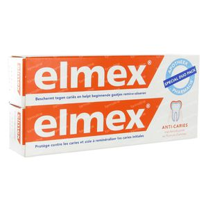 Elmex Toothpaste Anti-caries Duopack 150 ml