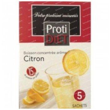 Protidiet Drink Citron Poudre 5 sachet