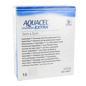 Aquacel Extra 5x5cm 10 pieces